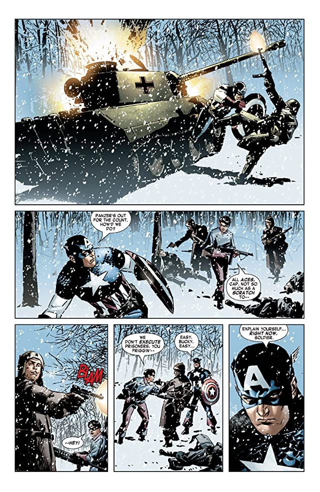 click for super-sized previews of Captain America (2004-2011) #5