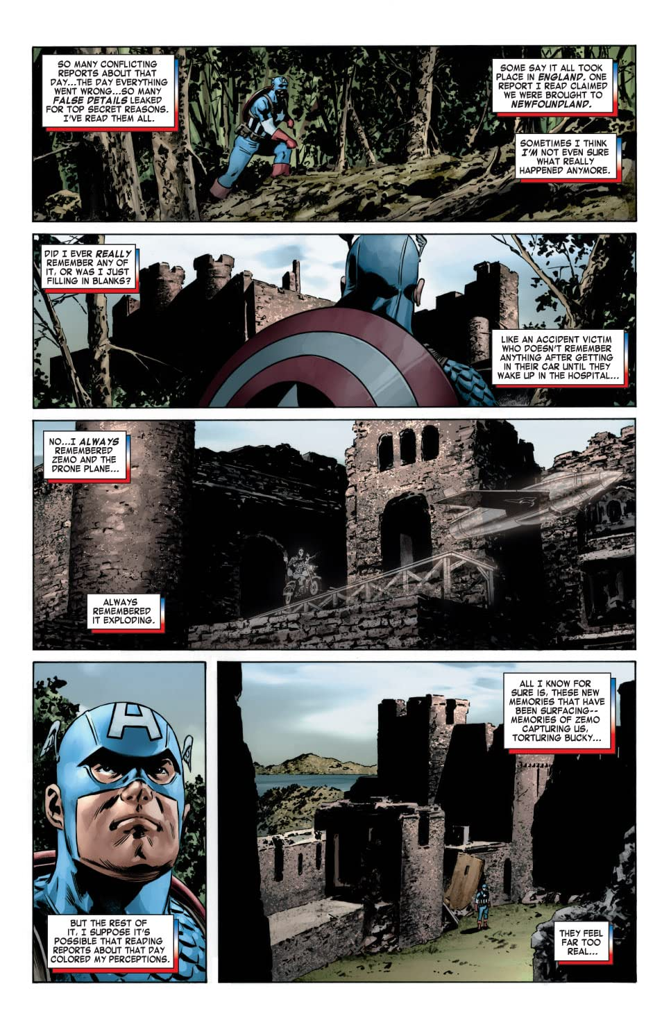 Captain America (2004-2011) #6