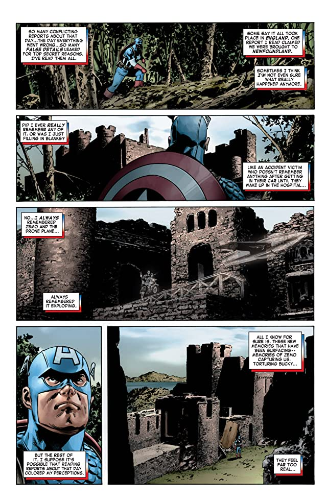 click for super-sized previews of Captain America (2004-2011) #6