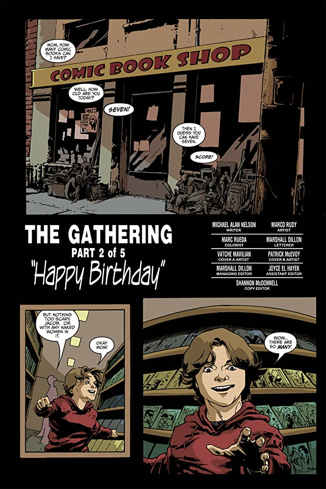 click for super-sized previews of Fall of Cthulhu Vol. 2: The Gathering #2 (of 5)