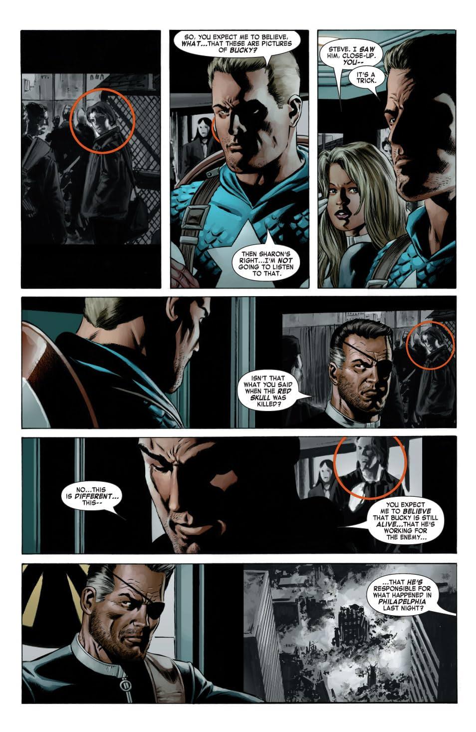 Captain America (2004-2011) #8