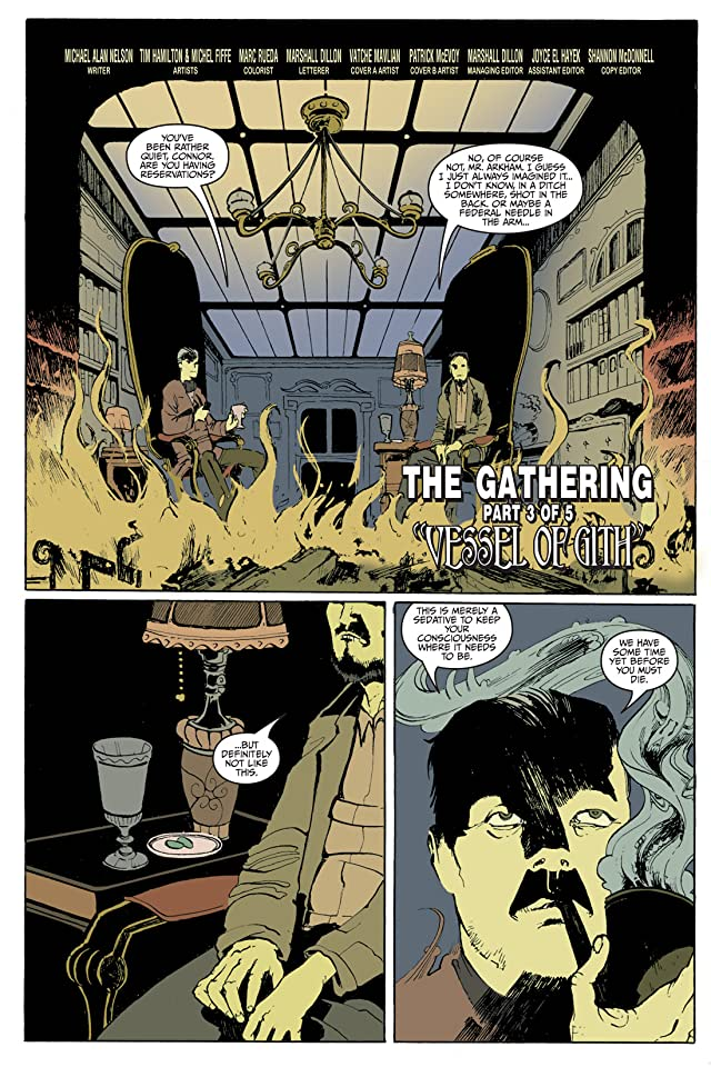 click for super-sized previews of Fall of Cthulhu Vol. 2: The Gathering #3