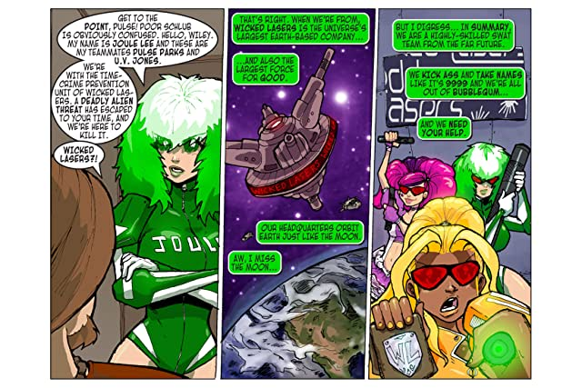 click for super-sized previews of WICKEDPOWERED Vol. 1