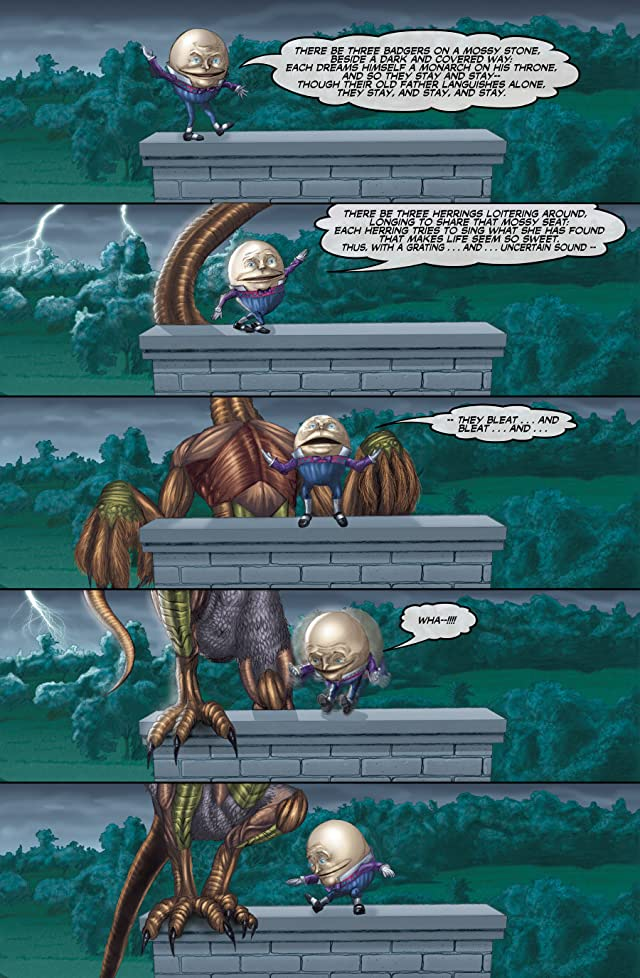 click for super-sized previews of The Oz/Wonderland Chronicles #1