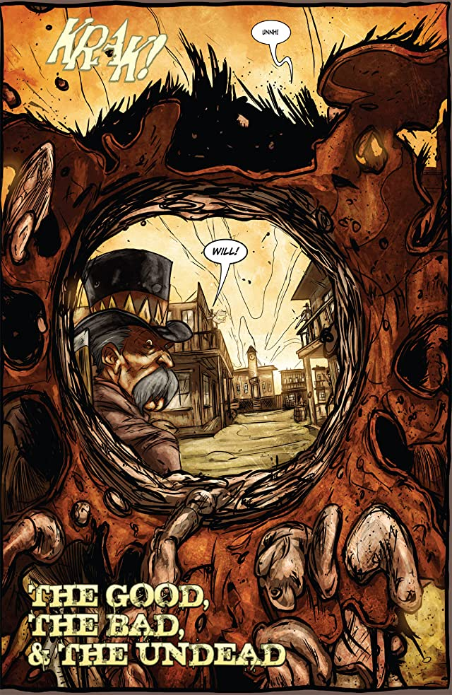 click for super-sized previews of Graveslinger #3