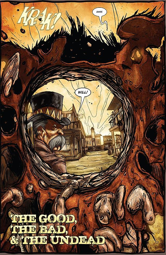 click for super-sized previews of Graveslinger #3