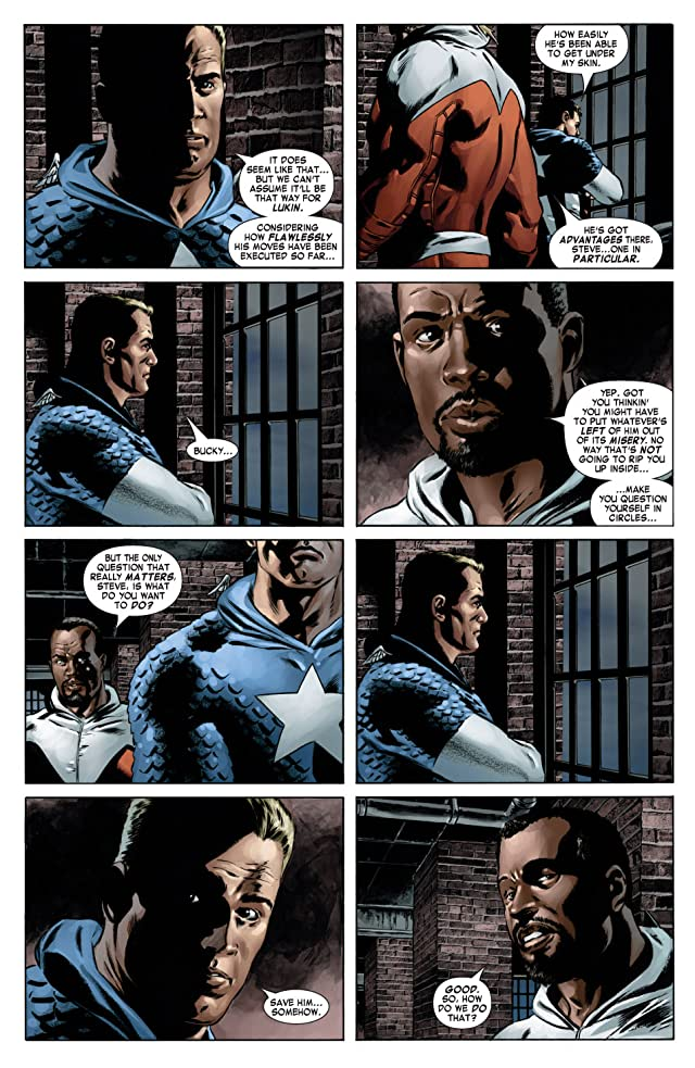 click for super-sized previews of Captain America (2004-2011) #13
