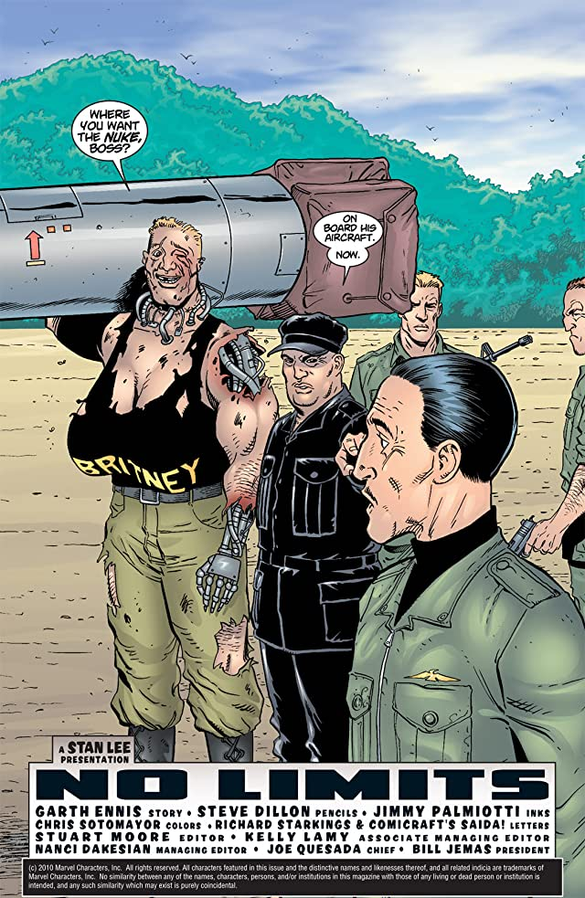 click for super-sized previews of The Punisher (2001-2003) #5