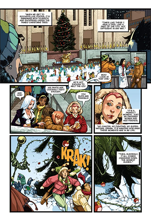 click for super-sized previews of Marvel Holiday Magazine #3
