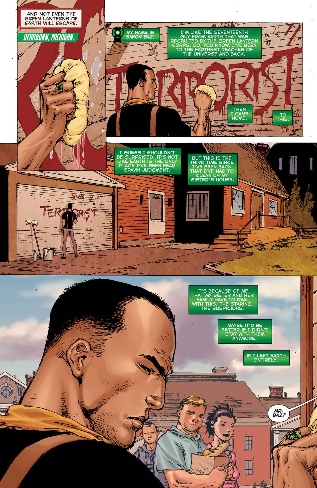 Green Lanterns: Rebirth (2016) #1