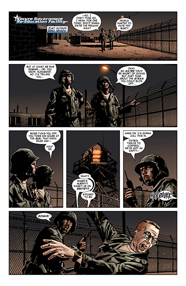 click for super-sized previews of Captain America (2004-2011) #9