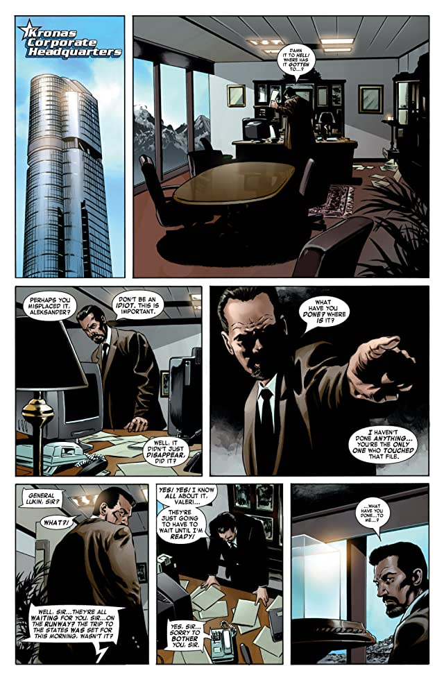 click for super-sized previews of Captain America (2004-2011) #11