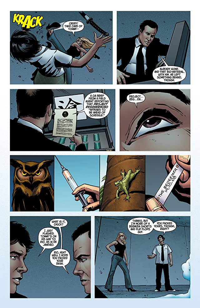 click for super-sized previews of Chuck #3 (of 6)