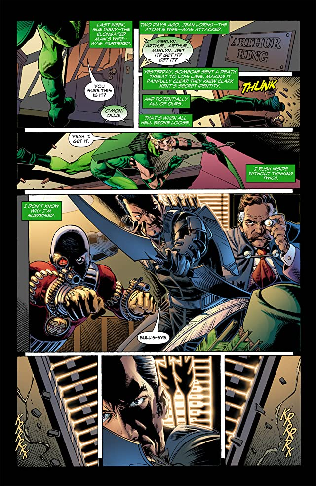 click for super-sized previews of Identity Crisis #5 (of 7)