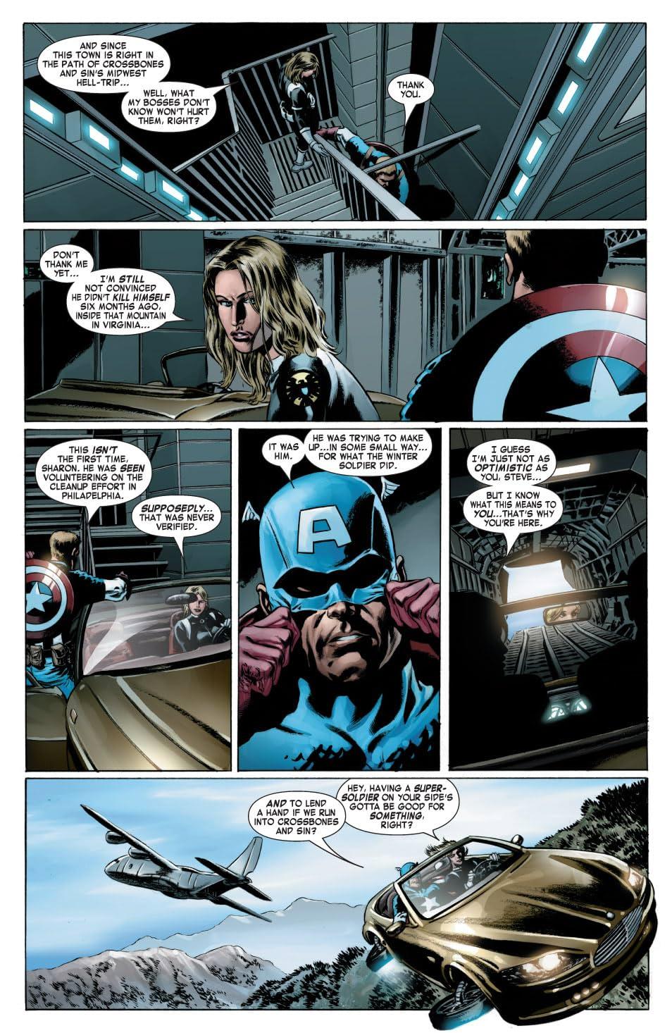 Captain America (2004-2011) #16