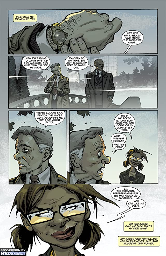click for super-sized previews of Mysterius: The Unfathomable #1: Wildstorm