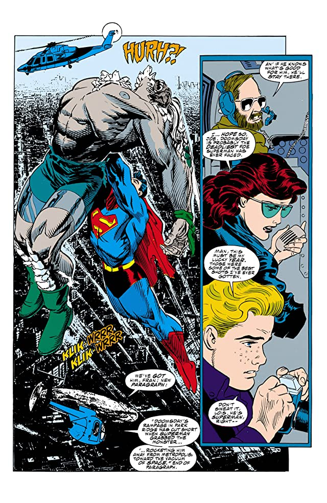 click for super-sized previews of Superman: The Man of Steel (1991-2003) #19