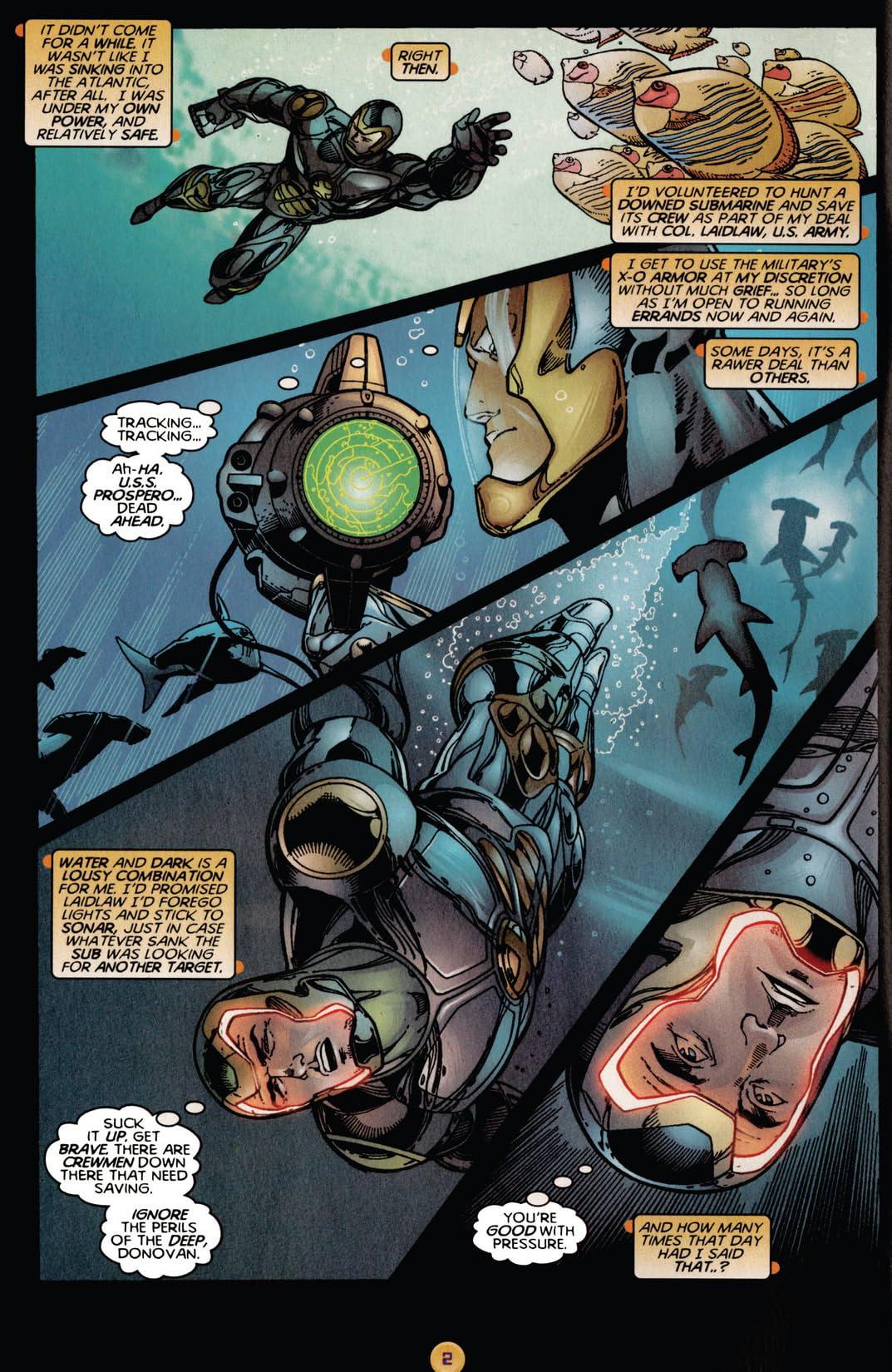 X-O Manowar (1996-1998) #3