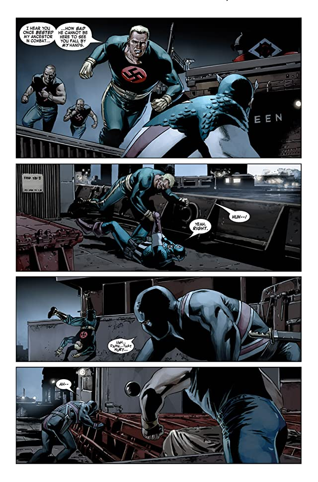 click for super-sized previews of Captain America (2004-2011) #19