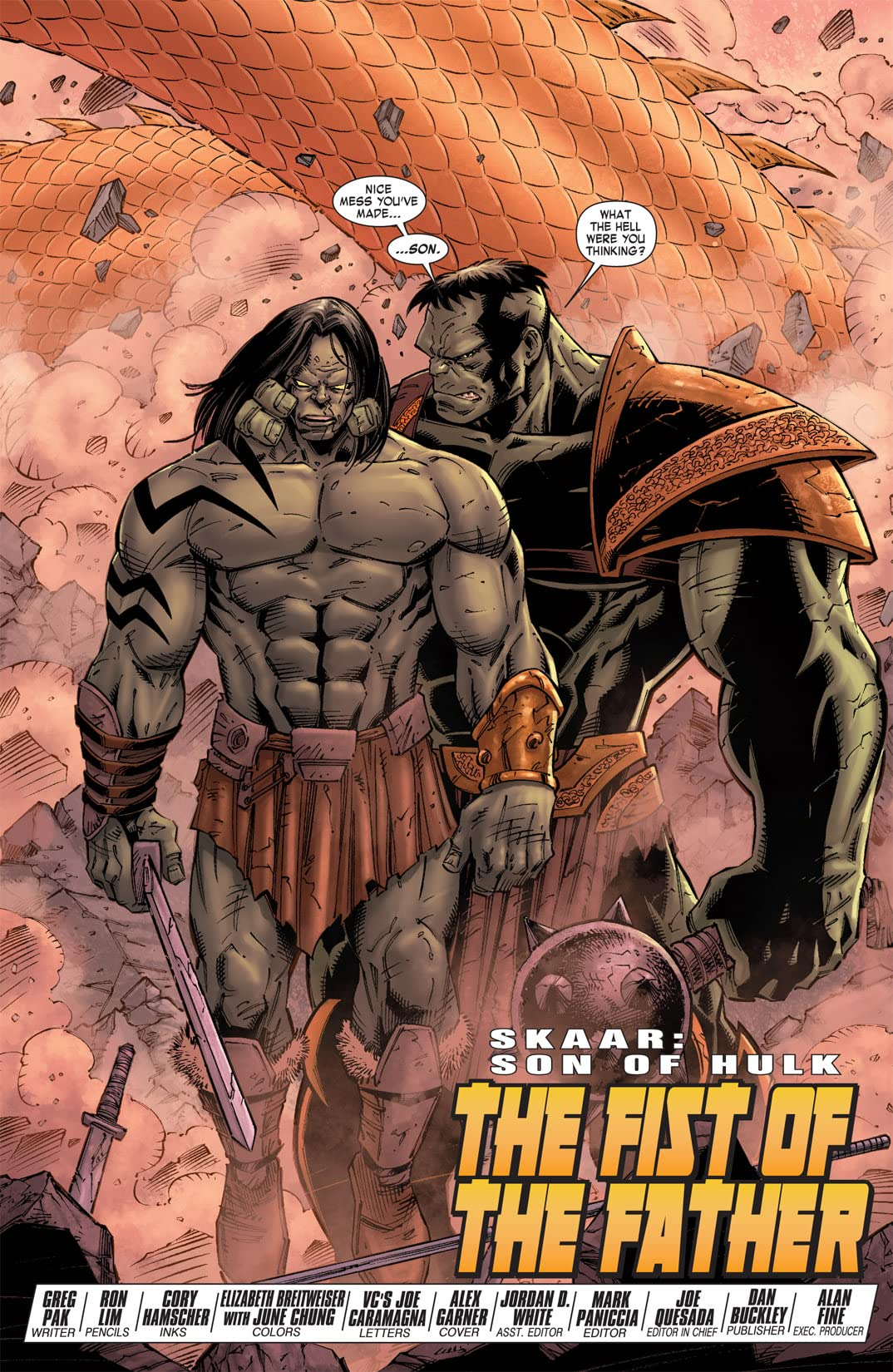Skaar: Son of Hulk #9
