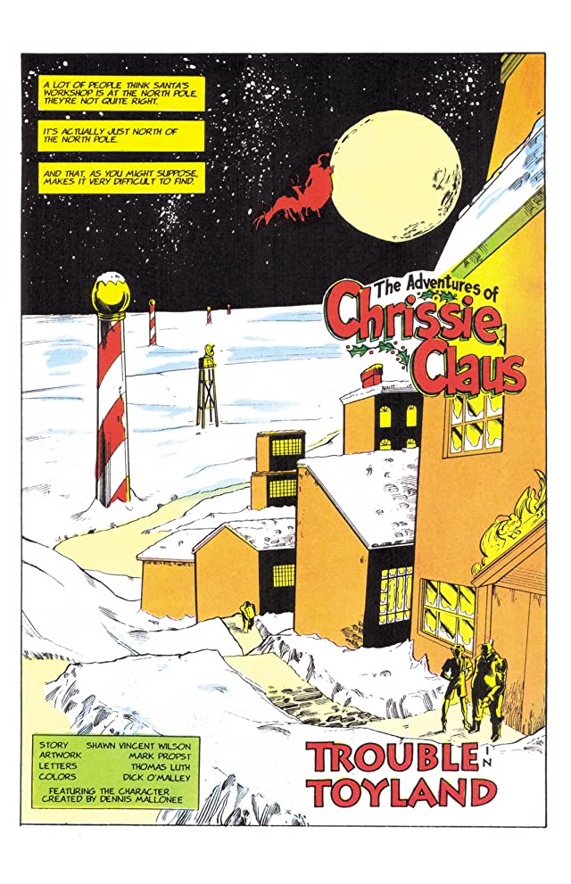 click for super-sized previews of The Adventures of Chrissie Claus Graphic Novel Collection Vol. 1