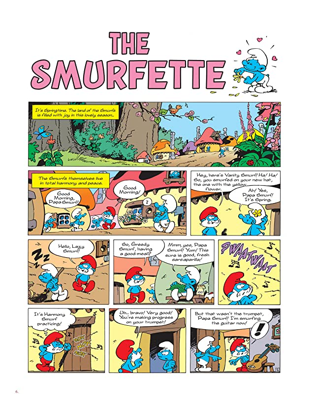 click for super-sized previews of The Smurfs Anthology Vol. 2