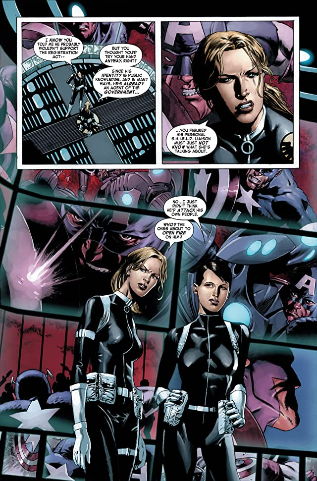 click for super-sized previews of Captain America (2004-2011) #22