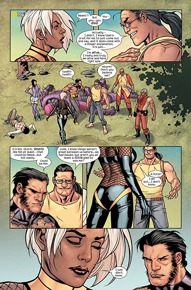 click for super-sized previews of Ultimate X-Men #88