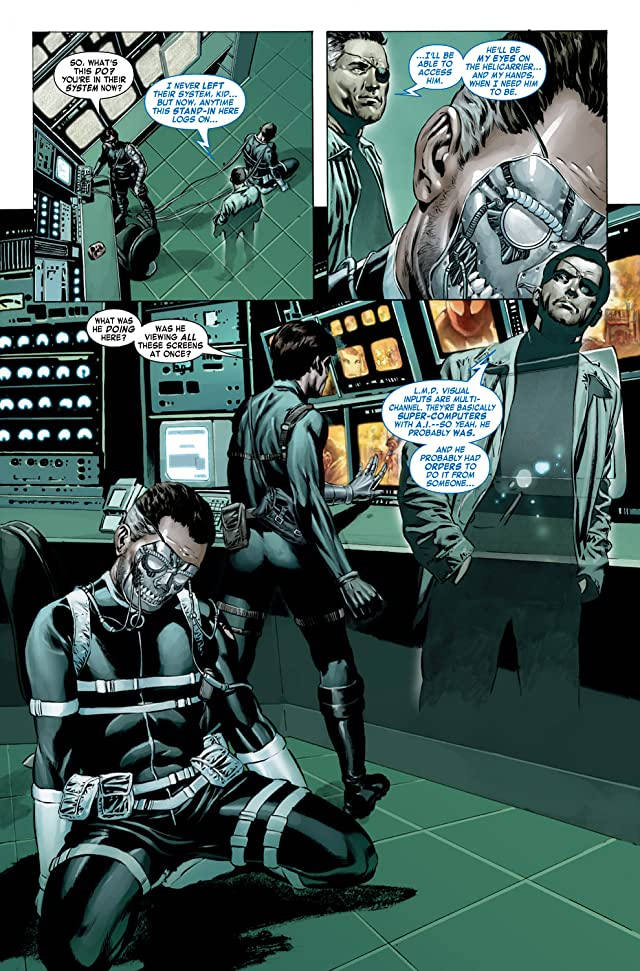 click for super-sized previews of Captain America (2004-2011) #23