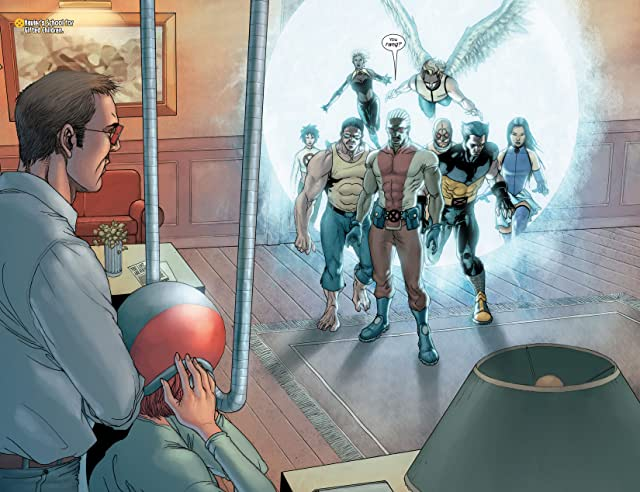 click for super-sized previews of Ultimate X-Men #90