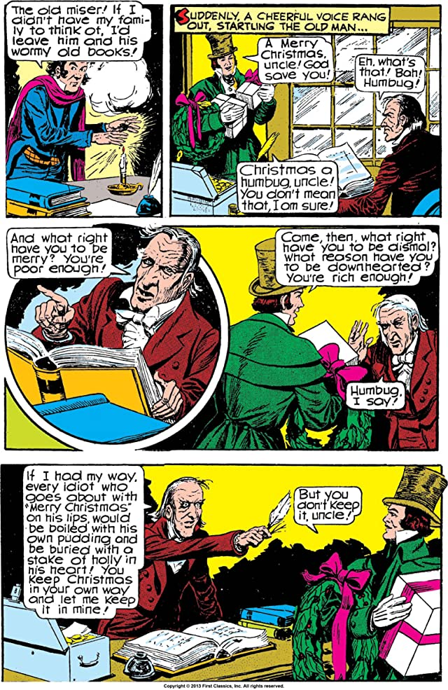 Classics Illustrated #53: A Christmas Carol
