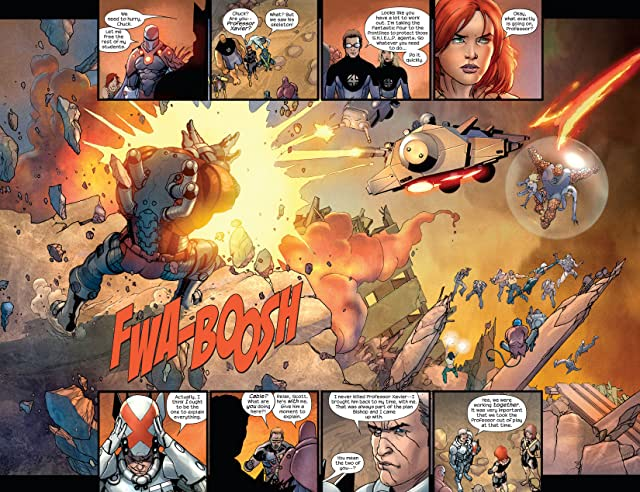 click for super-sized previews of Ultimate X-Men #92