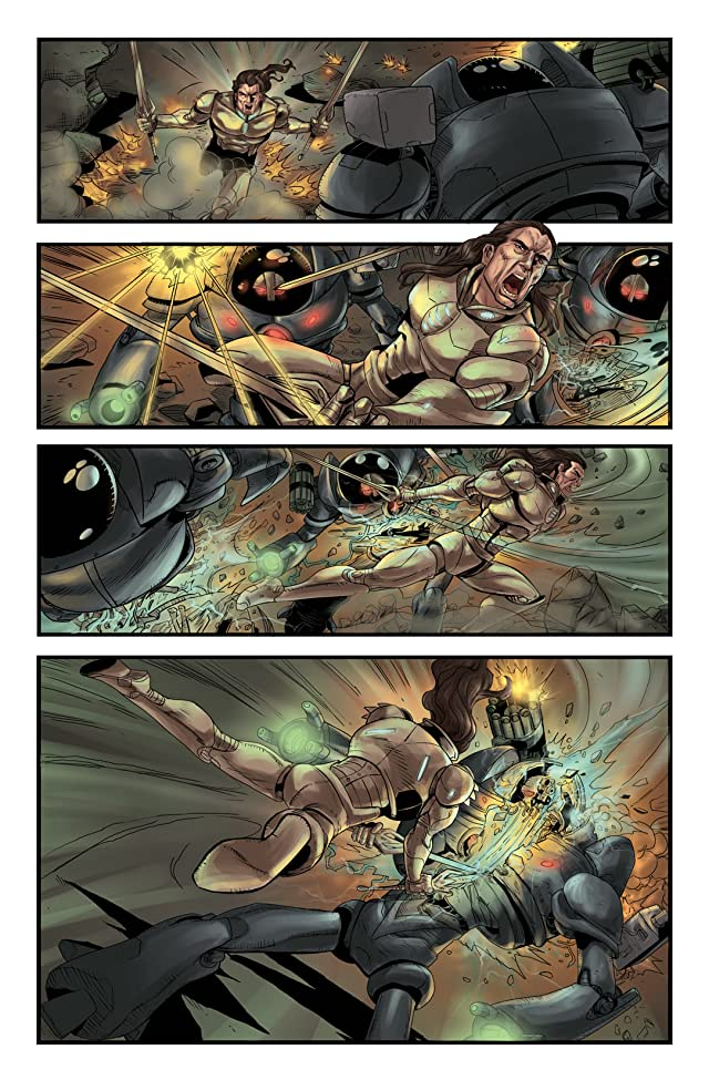 Last Reign: Kings of War #3 (of 5)