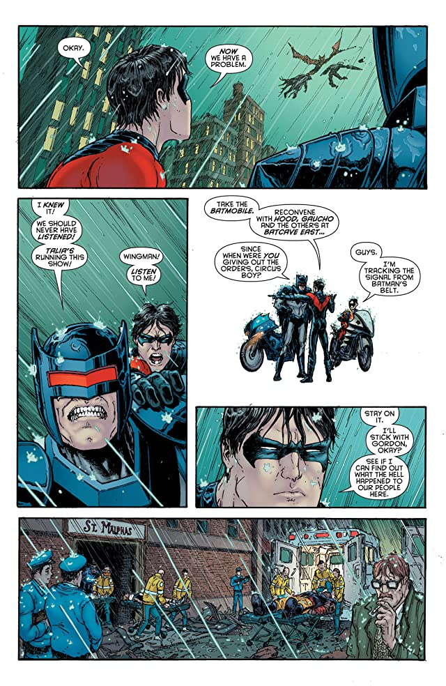click for super-sized previews of Batman Incorporated (2012-2013) Vol. 2: Gotham's Most Wanted