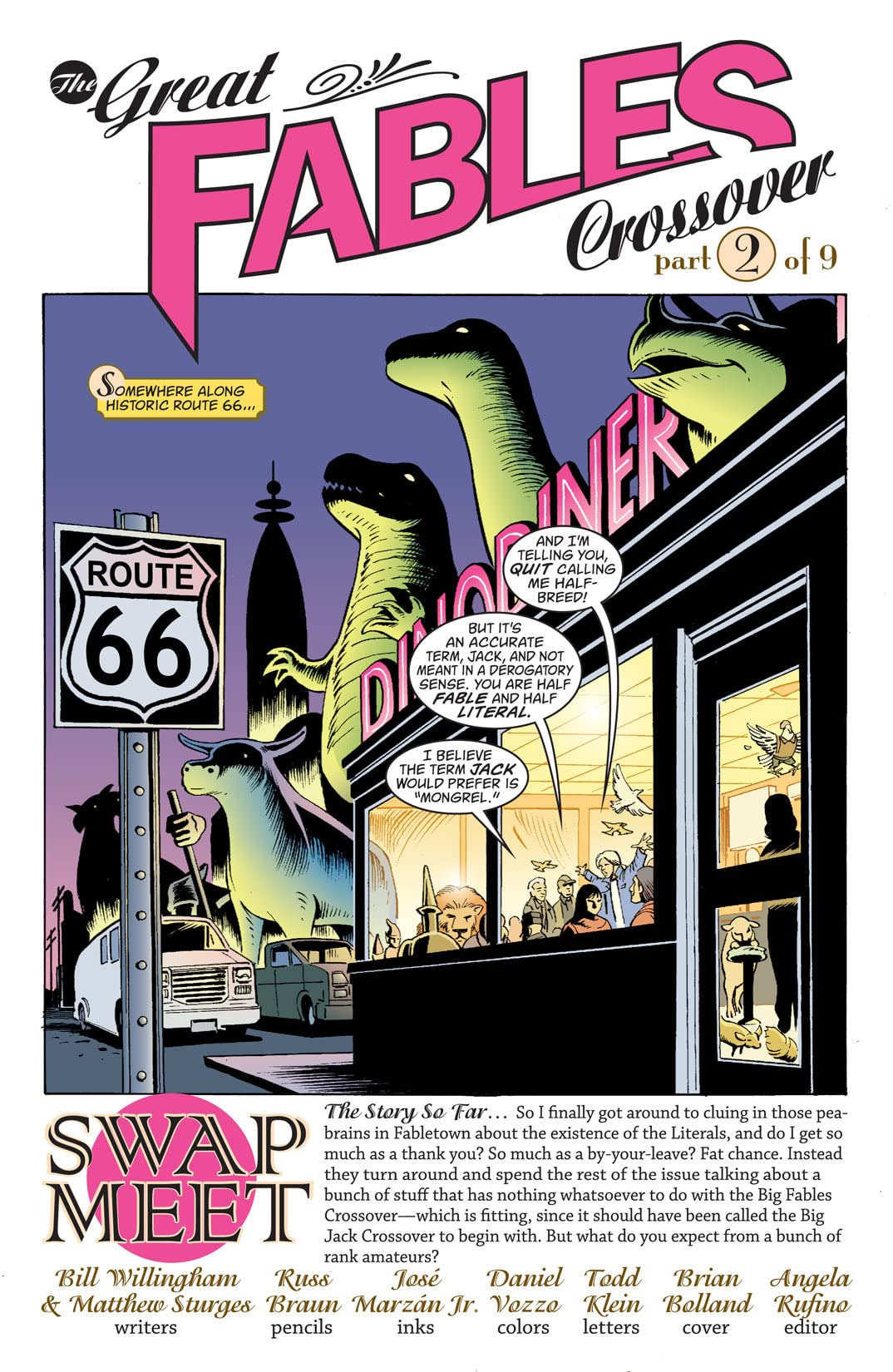 Jack of Fables #33