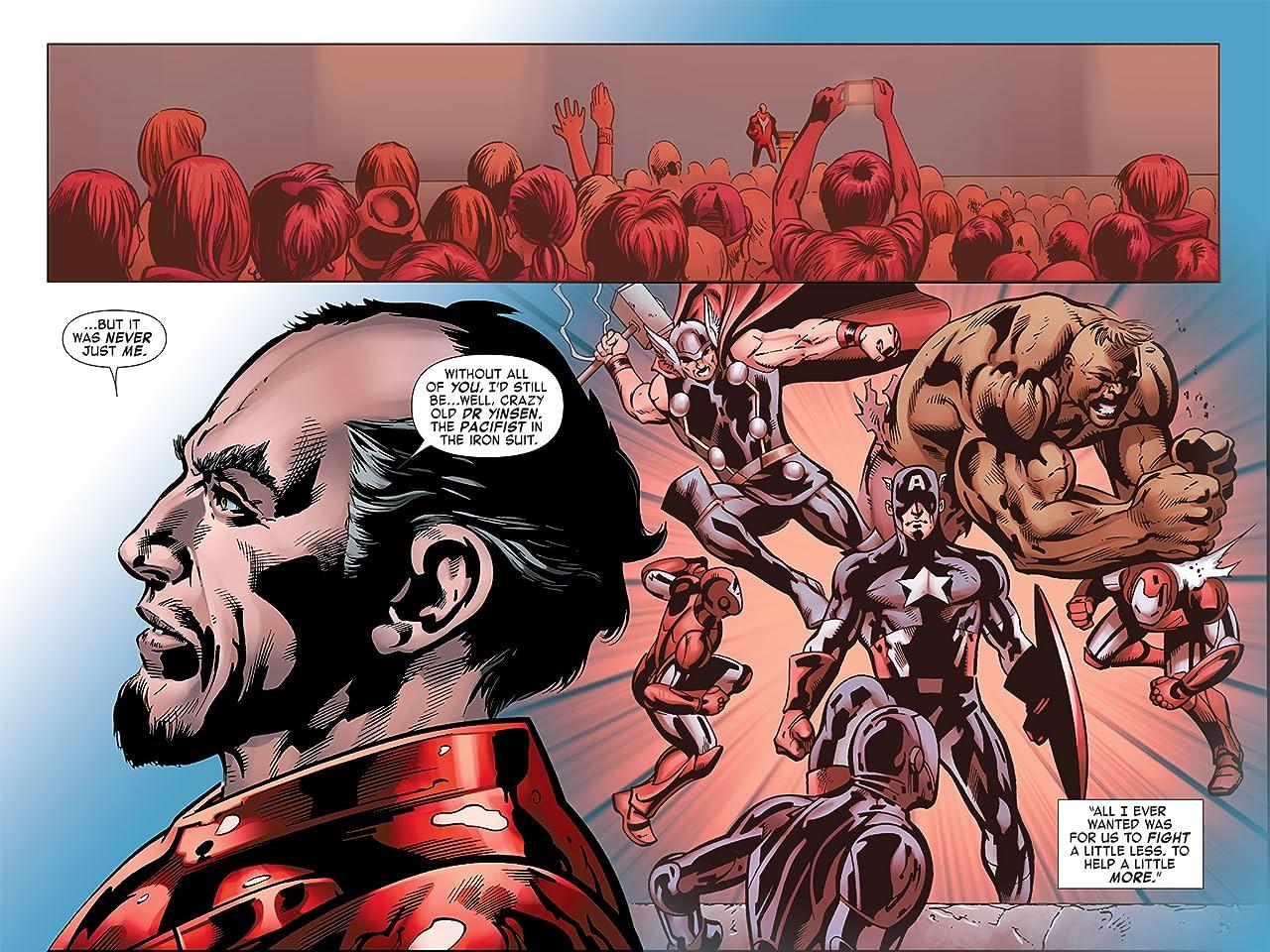 Iron Man: Fatal Frontier Infinite Comic #9