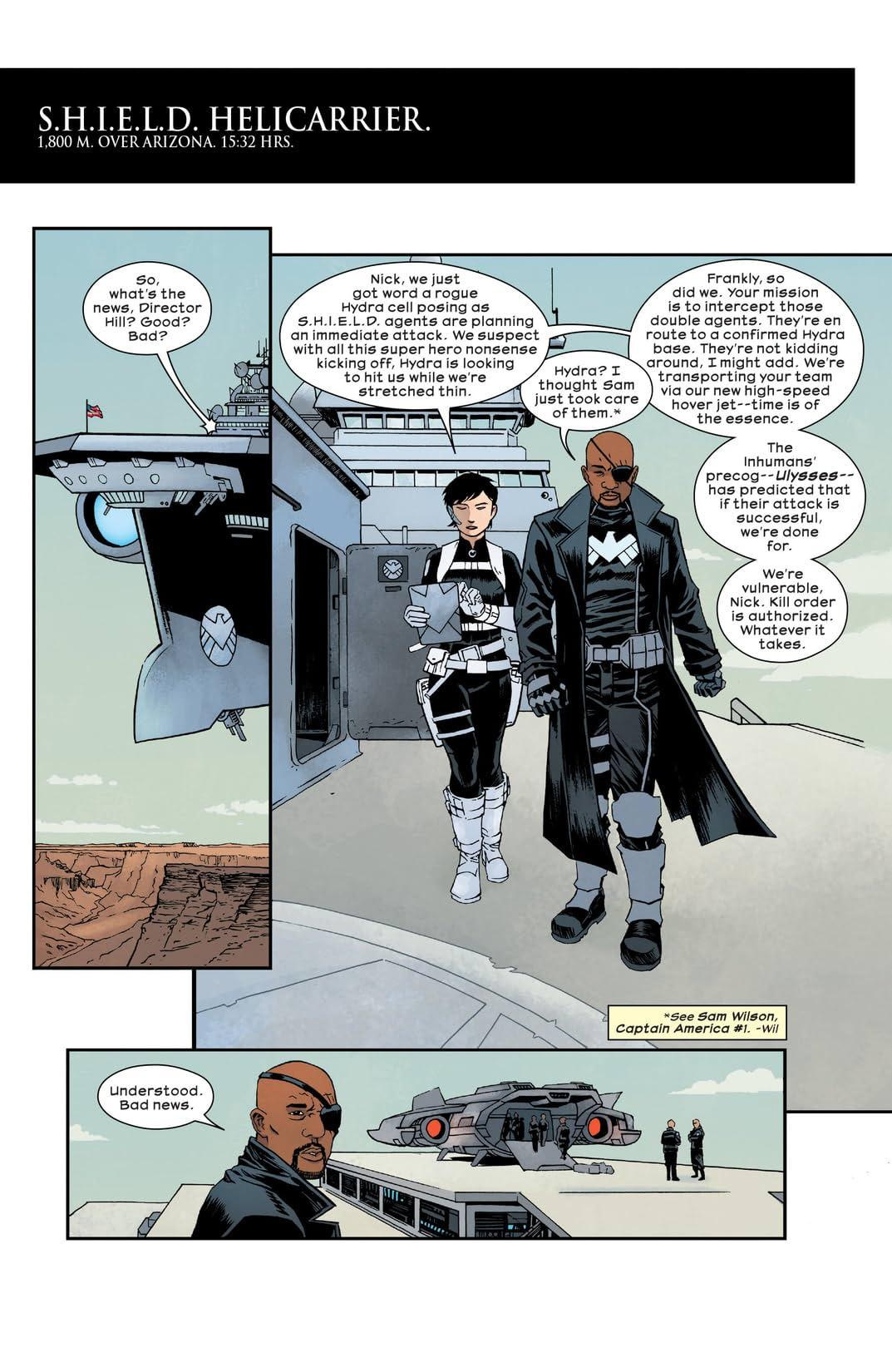 Civil War II: Choosing Sides (2016) #1 (of 6)