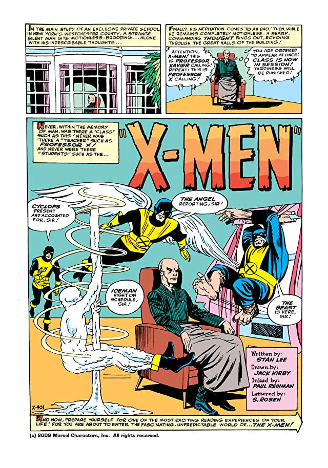 click for super-sized previews of Uncanny X-Men (1963-2011) #1