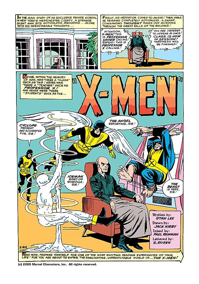 click for super-sized previews of Uncanny X-Men (1963-2011) #1