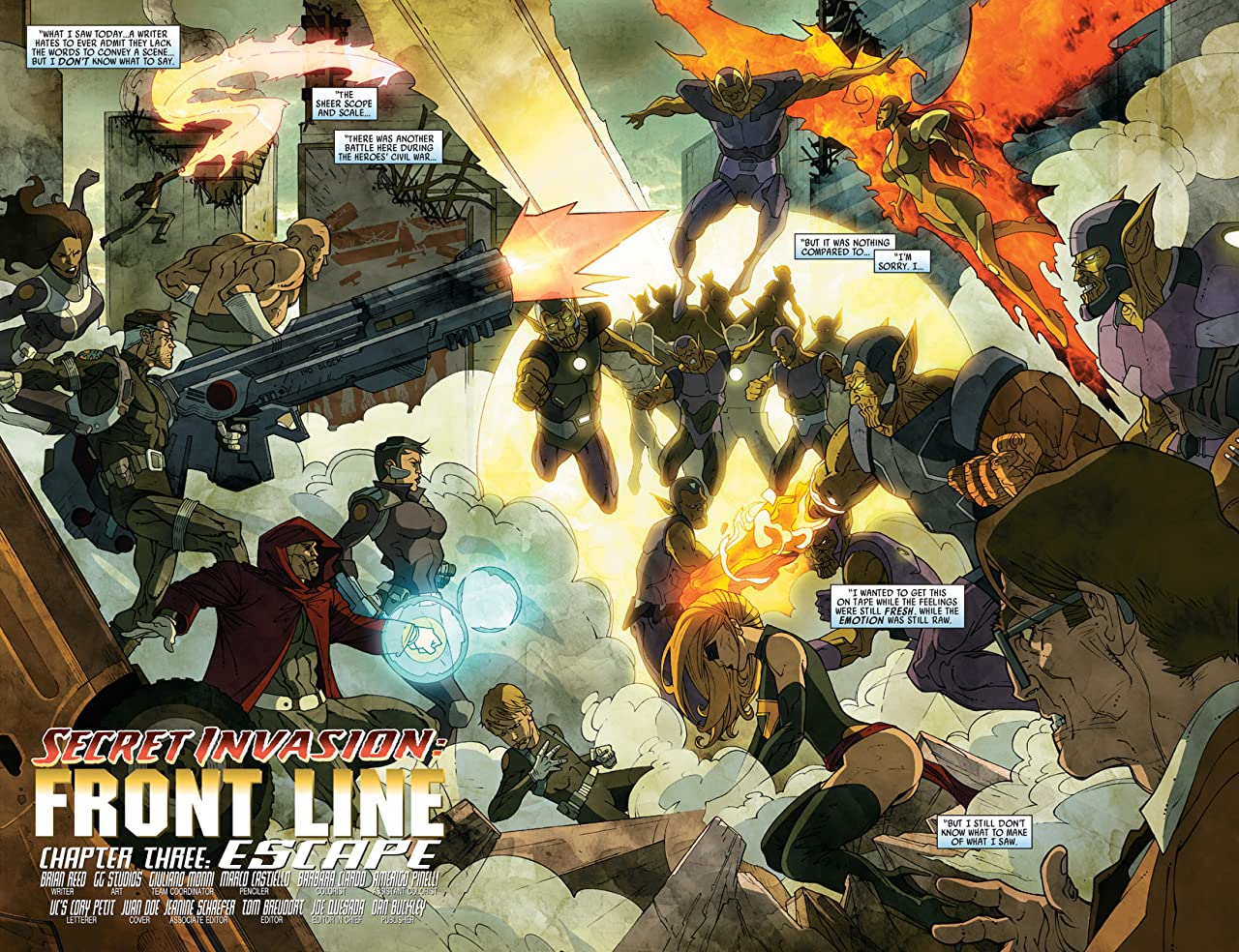 Secret Invasion: Front Line #3 (of 5)