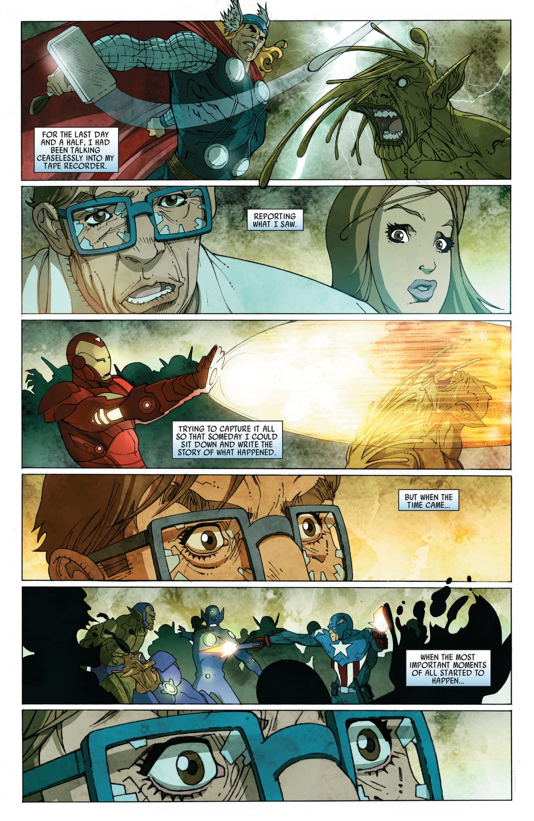 Secret Invasion: Front Line #5 (of 5)