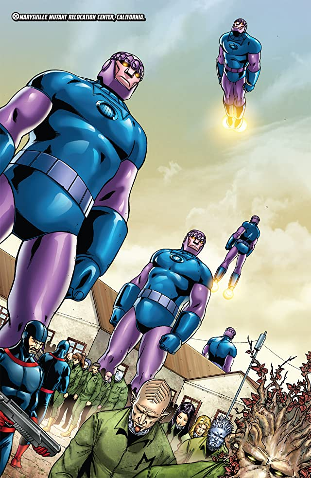 click for super-sized previews of Civil War: House of M #2