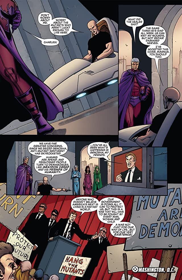 click for super-sized previews of Civil War: House of M #3