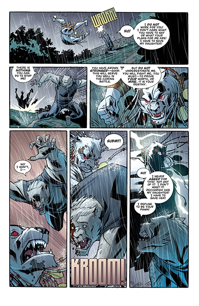 The Astounding Wolf-Man #24