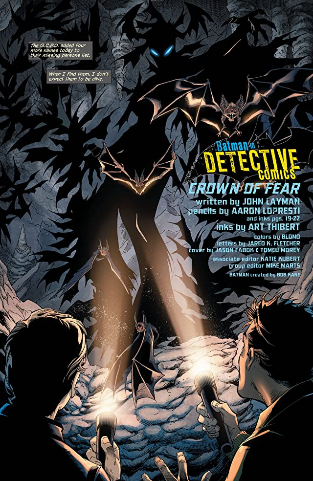 click for super-sized previews of Detective Comics (2011-) #26