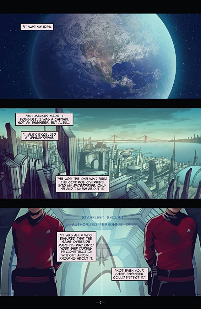 click for super-sized previews of Star Trek (2011-) Vol. 6: After Darkness