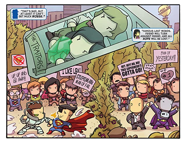 click for super-sized previews of Scribblenauts Unmasked: A Crisis of Imagination #1