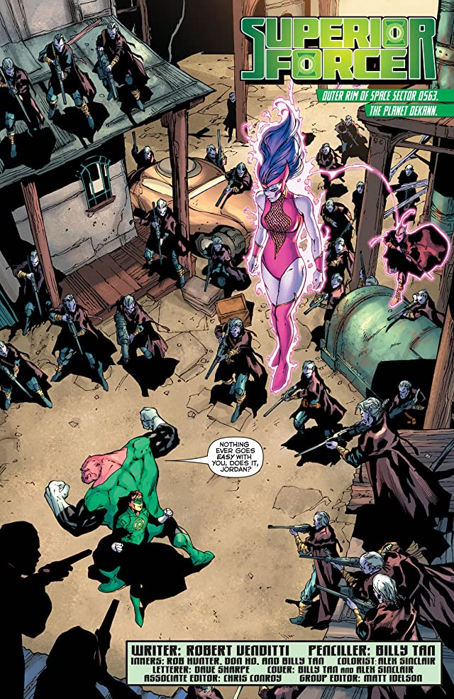 click for super-sized previews of Green Lantern (2011-) #26