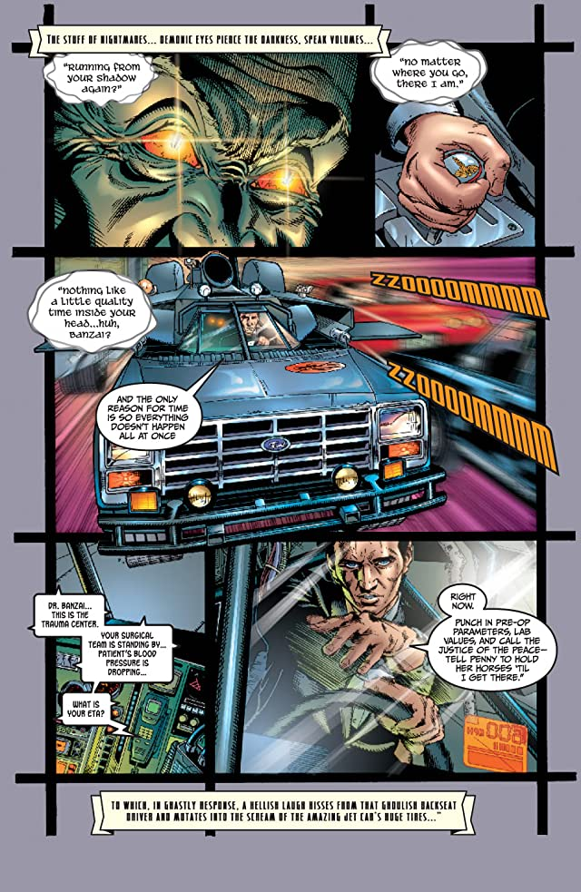 Buckaroo Banzai: Return of the Screw #1