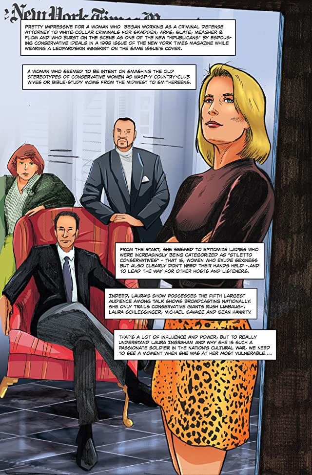 click for super-sized previews of Female Force #27: Laura Ingraham
